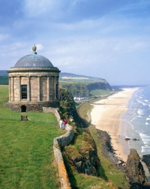 Mussenden Temple and Downhill Strand